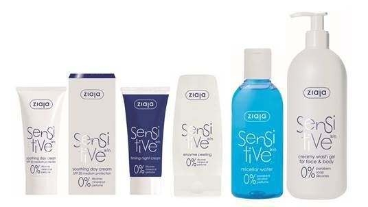 Ziaja Sensitive Skin Sare Range GREAT FOR KIDS DRY/ECZEMA PRONE SKIN!