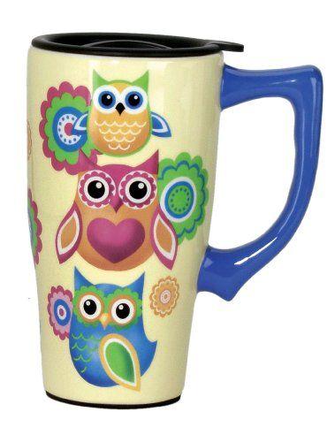 Spoontiques Owls Travel Mug, Yellow Spoontiques http://www.amazon.com/dp/B00E75SP7Y/ref=cm_sw_r_pi_dp_9GD4tb1QDV7B7