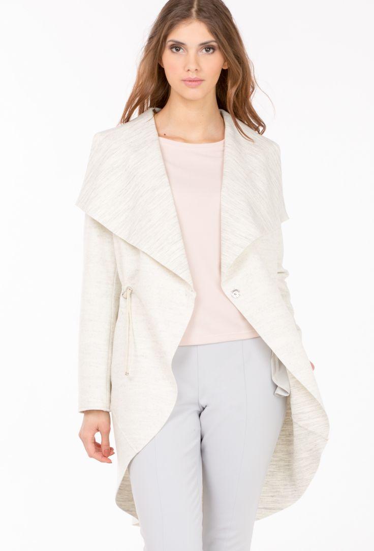 L2017 Płaszcz w stylu casual