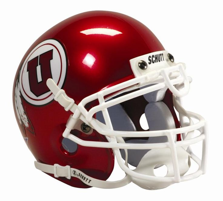 Utah Utes football helmet
