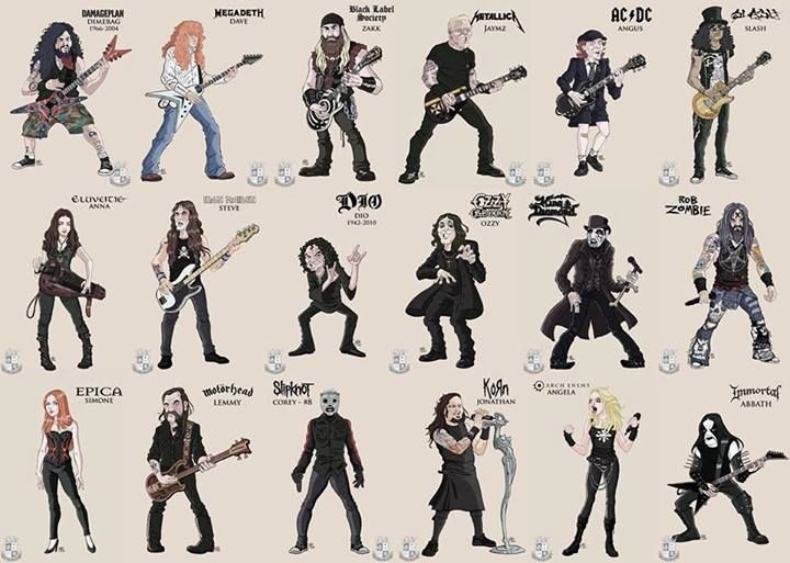 Ikonen des Heavy Metals - http://www.dravenstales.ch/ikonen-des-heavy-metals/