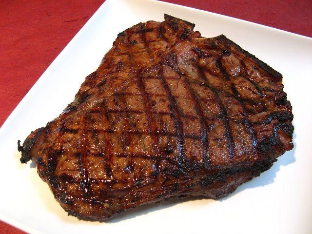 Grilled Miso Garlic T-Bone Steak | Duck Soup Easy Beef Recipes | Pint ...