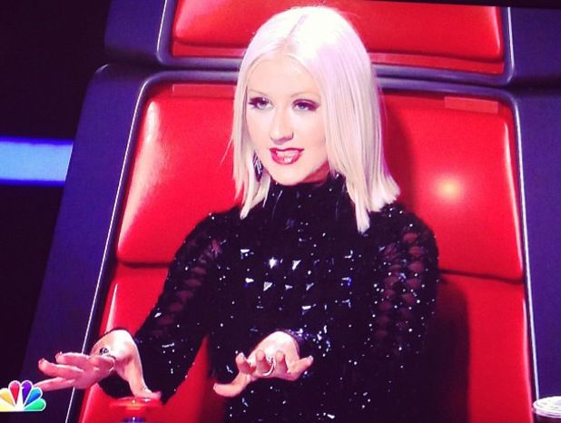 christina aguilera hair cut on the voice | Christina Aguilera appears in image for 'The Voice' - The Voice News ...