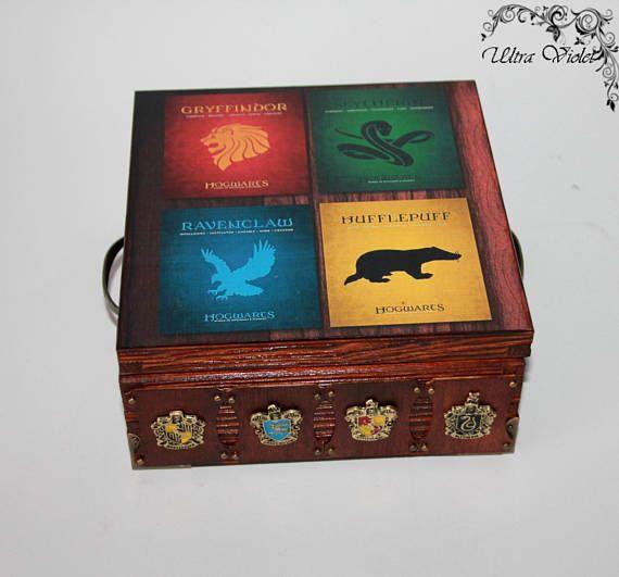 Harry Potter Hogwarts Uhrenbox für 4 Uhren Uhrenschatulle