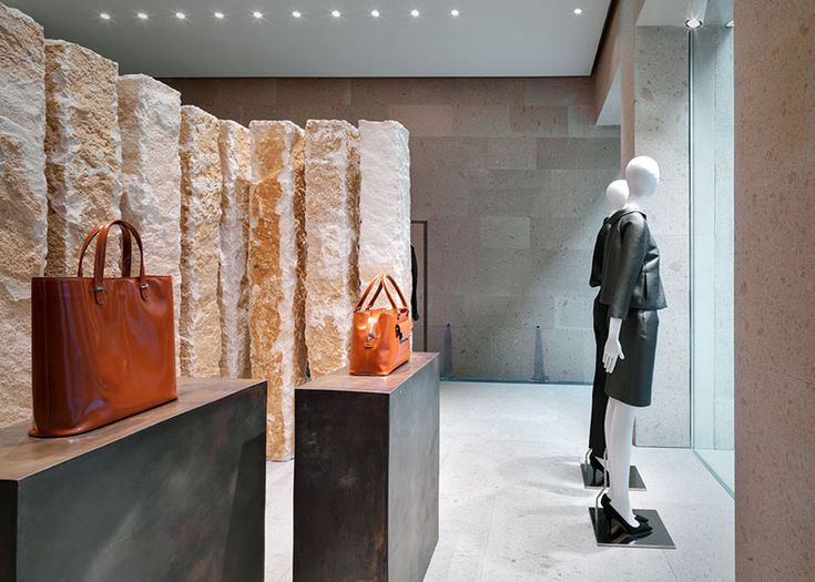 Giada Milan Fashion Boutique Interior Design By Claudio Silvestrin