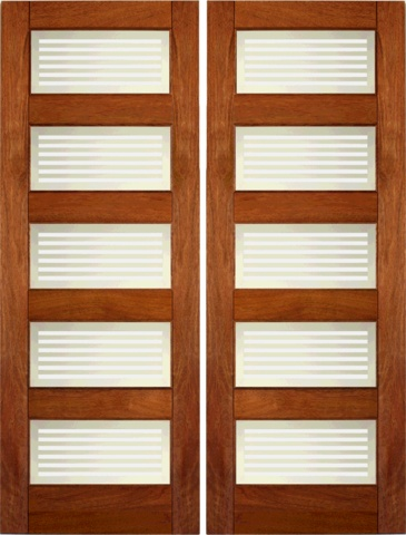 Buy Interior Double Door Interior Wood Mahogany Contemporary Matte Glass Double Door by AAW with 1 Year Limited Manufacturer Warranty warranty.  sc 1 st  Pinterest & 71 best Interior Doors images on Pinterest   Interior doors Wood ...