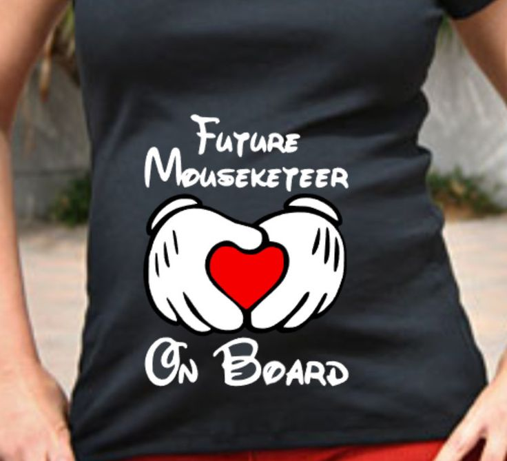 Maternity Shirt - Future Mouseketeer On Board - pinned by pin4etsy.com