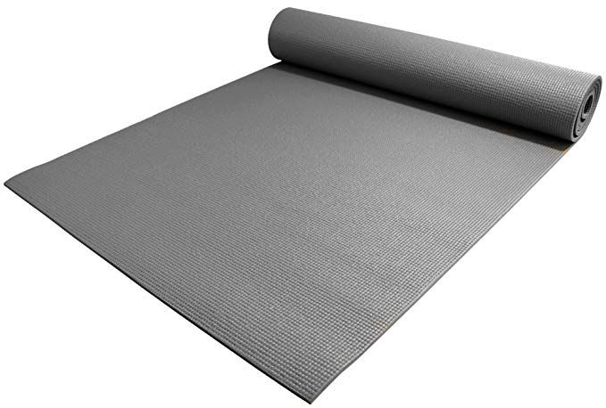 Amazon Com Yogaaccessories 1 4 Thick High Density Deluxe Non Slip Exercise Pilates Yoga Mat Gray Sports Outdoor Pilates Yoga Mat Yoga Pilates Pilates