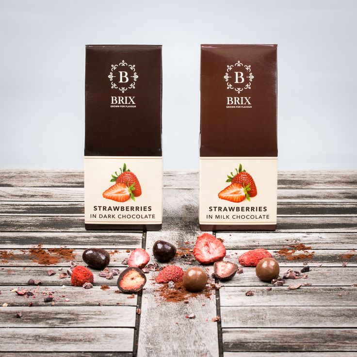 Crispy strawberries in the finest Belgian chocolate. Dark or milk chocolate.   #freeze #dried #strawberry #callebaut #luxury #delicious #chocolate #tasteisloveit #brixgrownforflavour #brixproducts