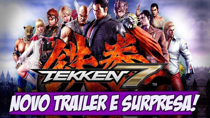 Tekken 7 NOVO TRAILER, E supresinha no final