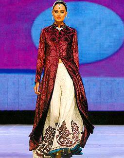 Ruby Wine Swift - silk charmeuse cut velvet - I love this jacket!