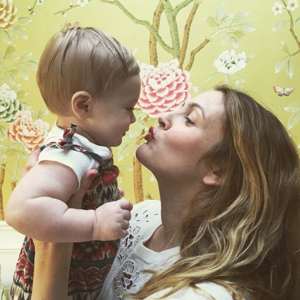Drew Barrymore's Daughter Frankie Is the Spitting Image of Mom as a Young Child?See for Yourself!   E! Online Mobile