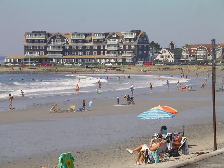 We think Kennebunk Beach might look this crowded today, with such beautiful weather! As seen on VisitMaine.net