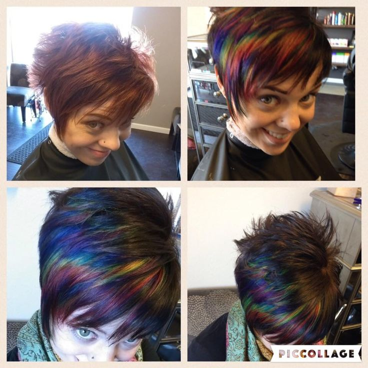 what is the best haircut for thin fine hair 2730 best images about cuts on 6319 | 3043e1ea526b884943aa6319ebb50755 short multicolored hair rainbow hair short