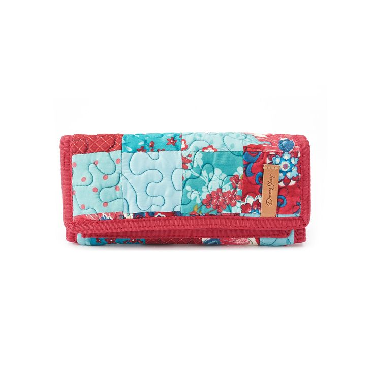 Donna Sharp Quilted Patchwork Wallet, Multicolor