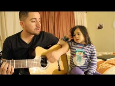 "I want to add this to my ""Cuteness"" category too because it's absolutely precious, but it is music after all so here it is. Father & Daughter singing ""Home"" by Edward Sharpe and the Magnetic Zeros"