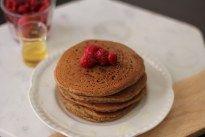 Beet Pancakes by NOGLUTENS gluten free, dairy free