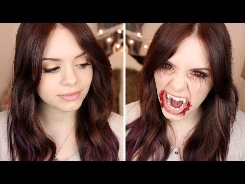 ▶ The Vampire Diaries: Elena Gilbert Makeup Tutorial • #SPOOKTOBER - YouTube
