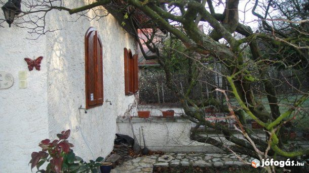 Balatonfüreden csodás házikó gyönyörű parkkal kiadó