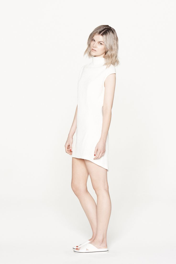 THIRD FORM RESORT 15 | MINI MAIKO DRESS #thirdform #fashion #streetstyle #minimal #trend #chic #dress #natural