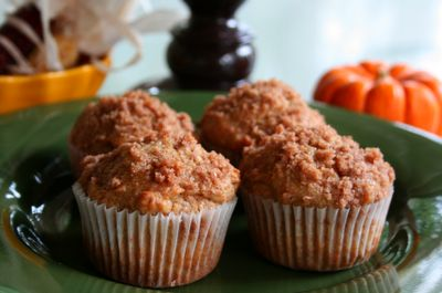 Spokane Dinner Club: Yellow Squash Muffins with Cinnamon Streusel