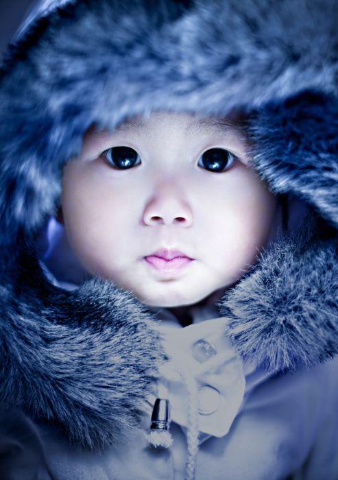 asian eskimo baby