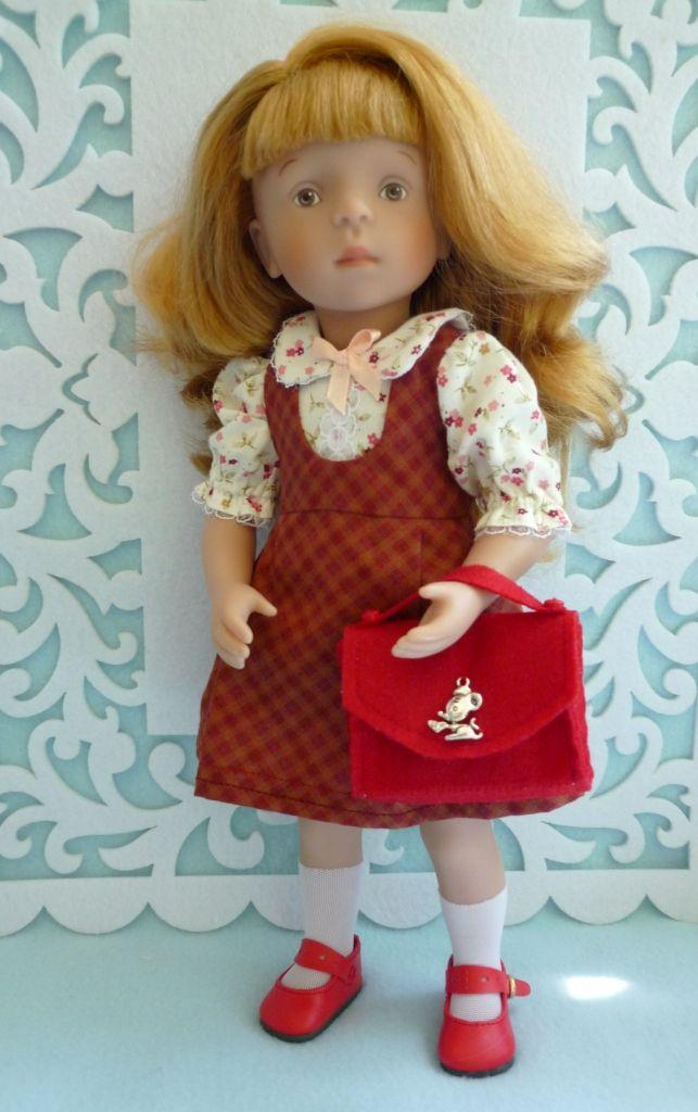 Комплект для куклы Minoucne от Сильвии Наттерер (Sylvia Natterer) / Одежда / Шопик. Продать купить куклу / Бэйбики. Куклы фото. Одежда для кукол