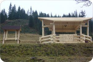 constructii foisoare din lemn si case din lemn