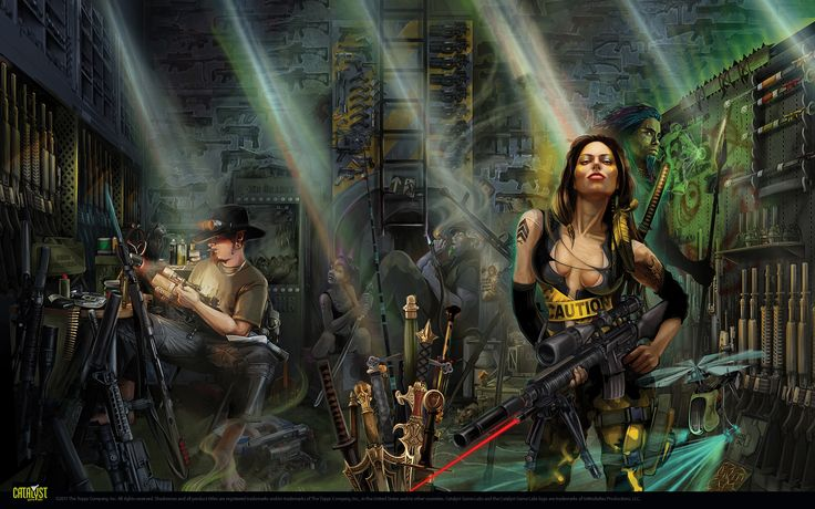 Wallpapers | Shadowrun 5