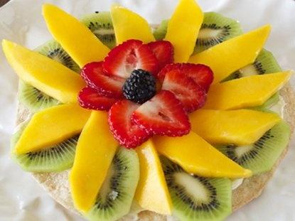 Tostada de Frutas - Que Rica Vida: Fruit, Recipe, Fruit Toast, Rica Vida