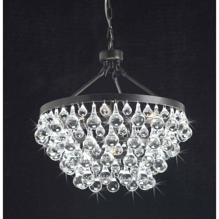Antique Copper 5-light Crystal Drop Chandelier | Overstock.com Shopping - Great Deals on Chandeliers & Pendants