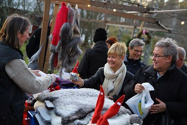 Adventsmarknad i Ingebo Hagar