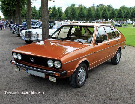 Vw passat GLS automatique (type 32-B1) de 1977 (1975-1980)(9ème Classic Gala de Schwetzingen 2011) 01