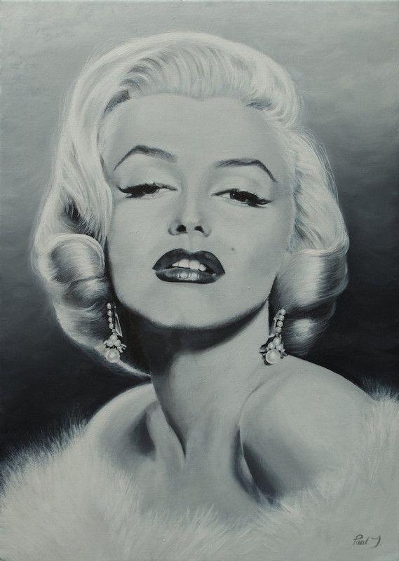 'Miss Monroe' by Paul J is for sale on ADO http://artdiscoveredonline.co.uk/art-gallery/miss-monroe/