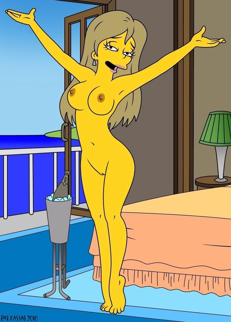 Love nude simpson cartoons tits, only