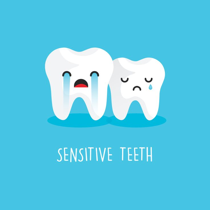 DO YOU HAVE sensitive teeth? Try using a sensitive toothpaste or ask us about sealants and other treatment options.
