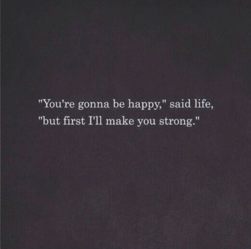 That it did and I'm so grateful we are BOTH strong!!! Because now we are so so so happy!!! Unbelievable how life works out ❤️ Thank you lord!!!