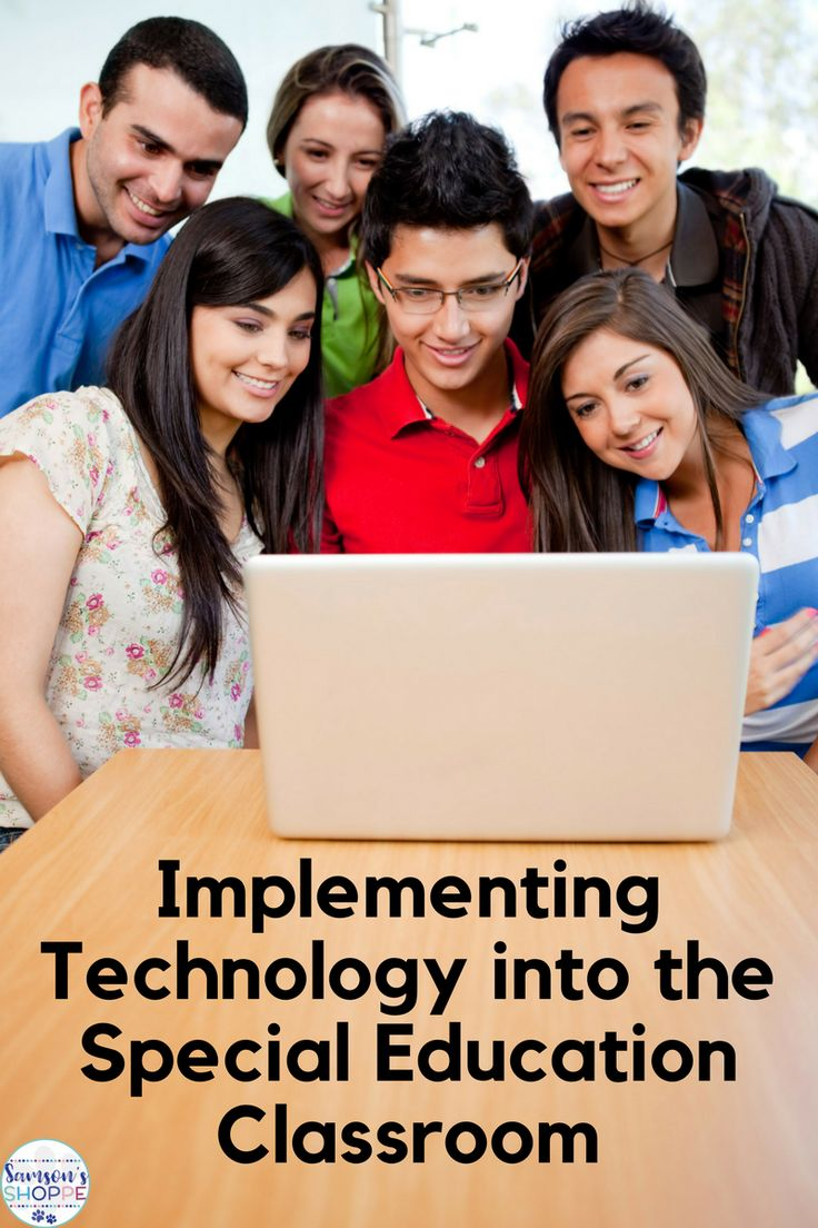 technology and special education Special education--national activities--educational technology, media, and materials for individuals with disabilities program.