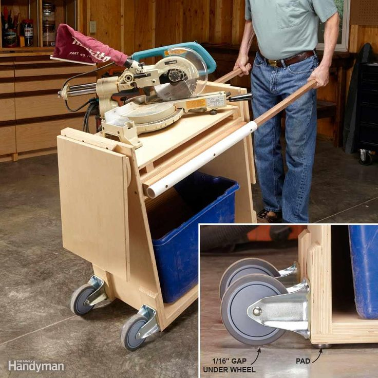 tips for making workshop tools portable