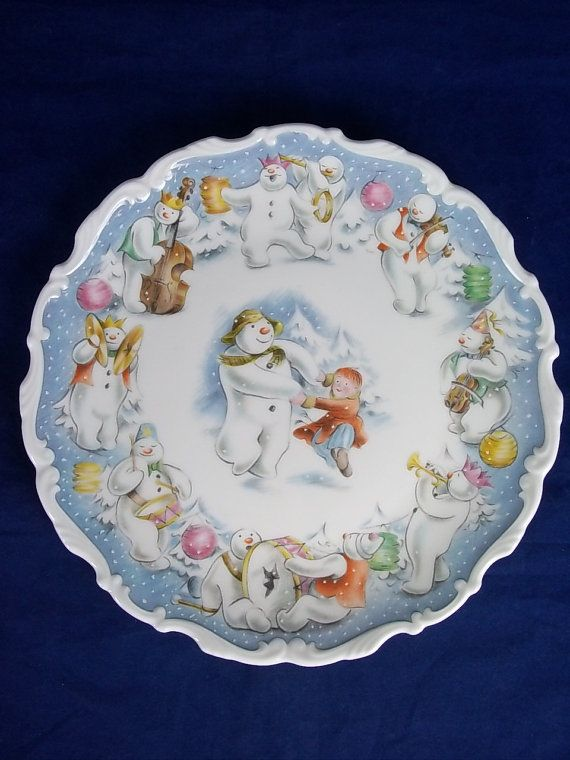 Royal Doulton The Snowman 20cm Plate Dance of by Yesterdayshome, £40.00
