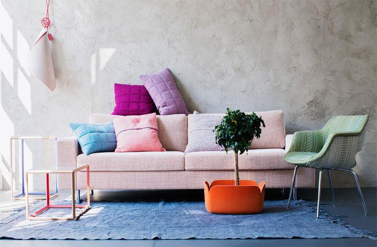 Funky livingroom / Anna Aromaa Glorian koti 9/2013, Photo Päivi Anita Ristell