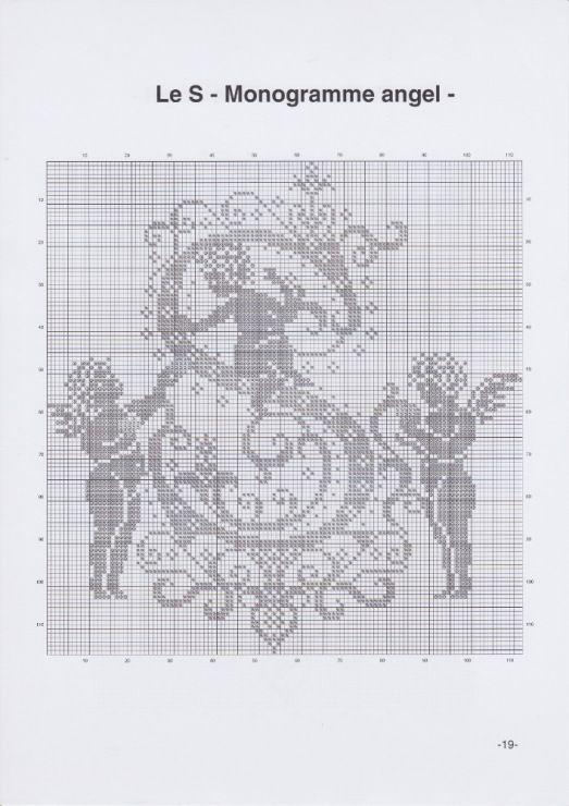 Gallery.ru / Фото #22 - JD327 - Monogrammes Angels - lyulnar