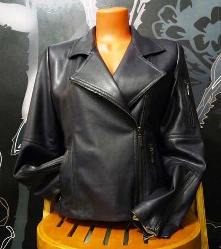 куртка из искусственной кожи, косуха