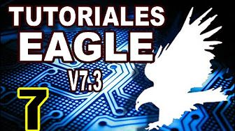 Tutoriales de EAGLE 7.3 - Cómo crear puentes en la placa de circuito impreso (bridge) - YouTube