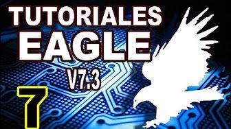Tutoriales de EAGLE 7.3 - Cómo crear puentes en la placa de circuito impreso (bridge) - YouTube