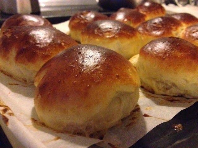 Receta mediasnoches sin gluten taller