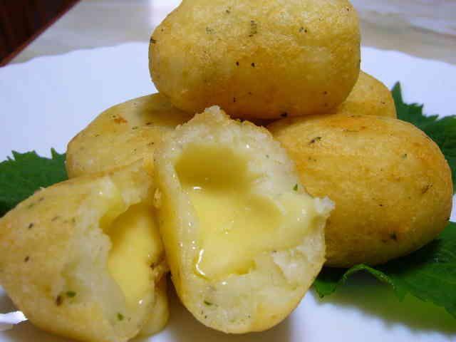 うますぎるポテトチーズ餅の画像