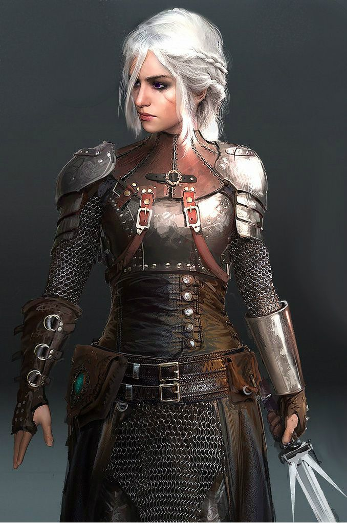 Artistic Rendition of our favourite Targaryen - Um, no. That's Ciri, from the Witcher 3