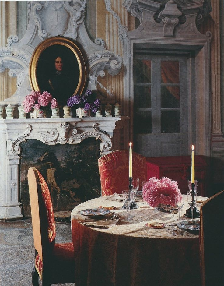 Anyone for 18th century dinner? :)