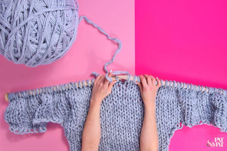 My DIY #mega #big #bigknitting #bigyarn #yarn #bigneedles #diy #diyprojekt #diyideas